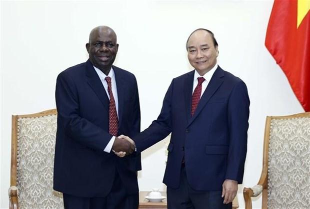 越南政府总理阮春福会见尼日利亚驻越大使 hinh anh 1