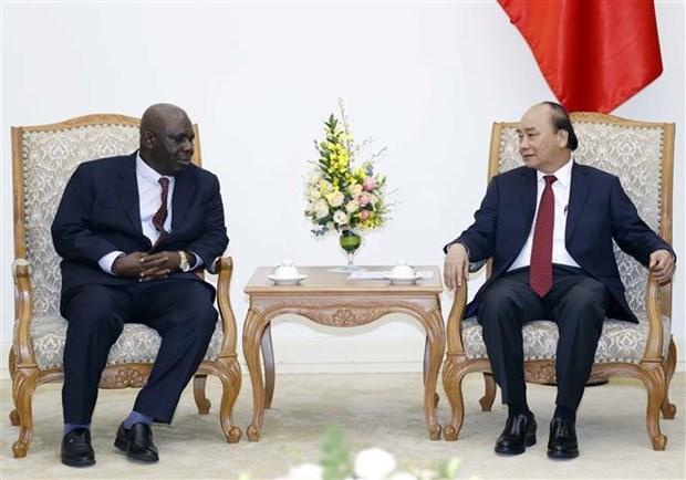 越南政府总理阮春福会见尼日利亚驻越大使 hinh anh 2