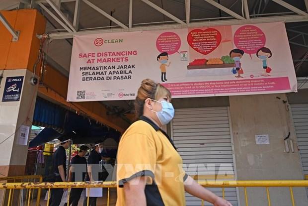 新加坡失业率达十年来新高 hinh anh 1