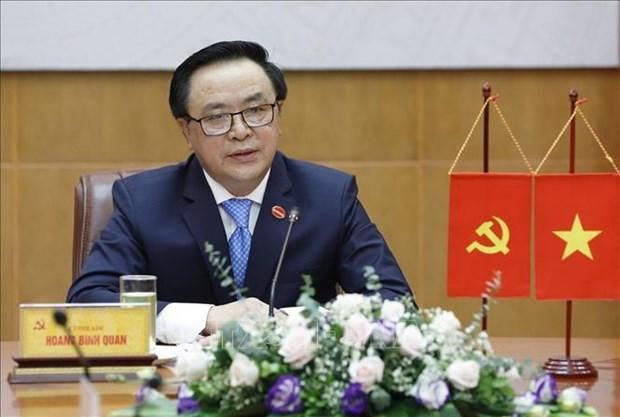 越中两党关系将继续维持积极发展态势 hinh anh 1