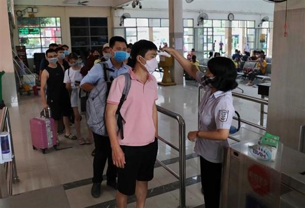 新冠肺炎疫情:河内市尽快追踪并对从岘港回来、与确诊病例有关的人员进行检测并隔离 hinh anh 2