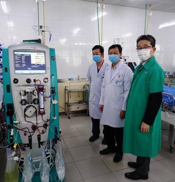 日本国际协力机构向胡志明市大水镬医院提供医疗设备 hinh anh 1