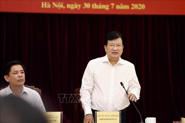 越南促进2020年公共投资中交通运输项目的投资 hinh anh 1