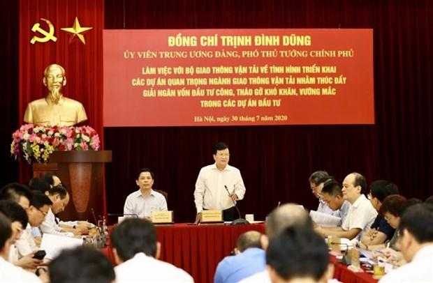越南促进2020年公共投资中交通运输项目的投资 hinh anh 2