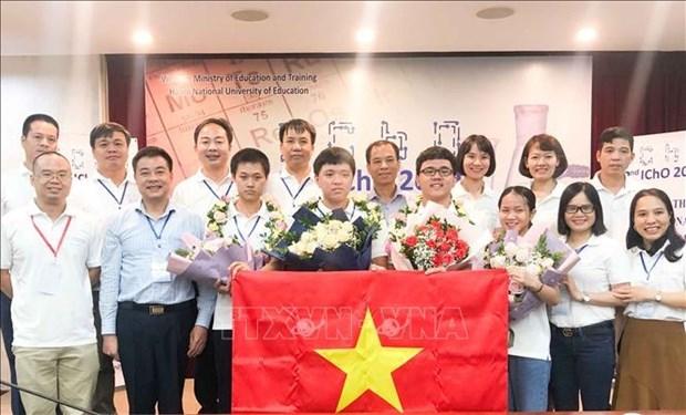 2020年国际化学奥林匹克竞赛:越南队成绩排名世界第二 hinh anh 1