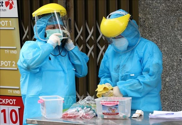 岘港成立社区新冠肺炎疫情防控工作小组 确保当地防疫工作落到实处 hinh anh 1