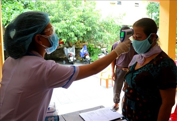 新冠肺炎疫情:承天顺化省对3名新冠患者加大追踪力度 hinh anh 1