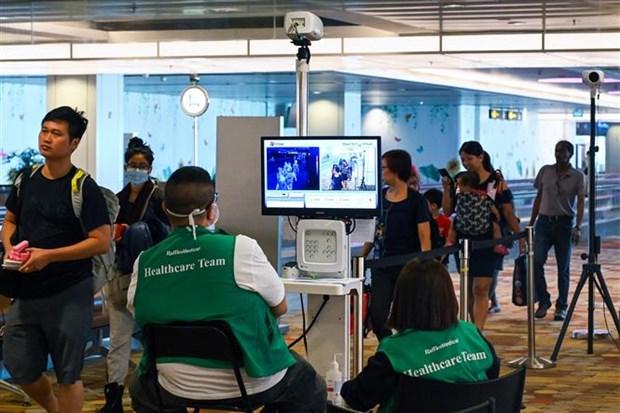 新冠肺炎疫情:新加坡加大入境人员管控力度 hinh anh 1