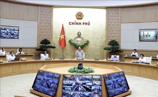 阮春福总理:坚决遏制第二波新冠疫情扩散 避免经济遭受创伤 hinh anh 2