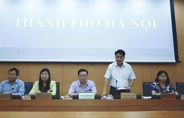 河内提出拥有PCR检测技术的医院协助进行新冠检测 hinh anh 1