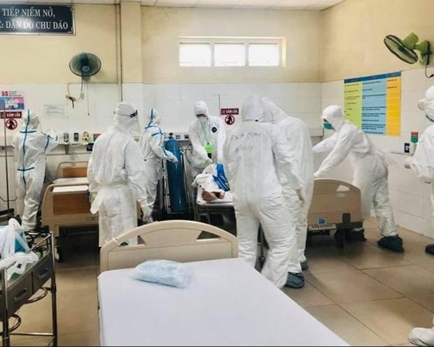 越南报告第八例新冠死亡病例 hinh anh 1