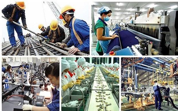越南工业生产指数增幅创多年来新低 hinh anh 1