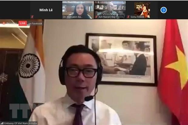 越南驻印度大使范生珠:数字经济助推印度-东盟-大洋洲互联互通 hinh anh 2