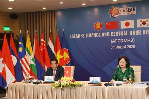 东盟与中日韩财政部副部长与央行副行长会议在河内举行 hinh anh 2