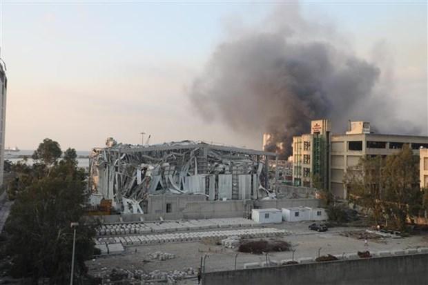 黎巴嫩贝鲁特港口大爆炸:一名越南人受伤 联合国秘书长对遇难者家属表示慰问 hinh anh 1