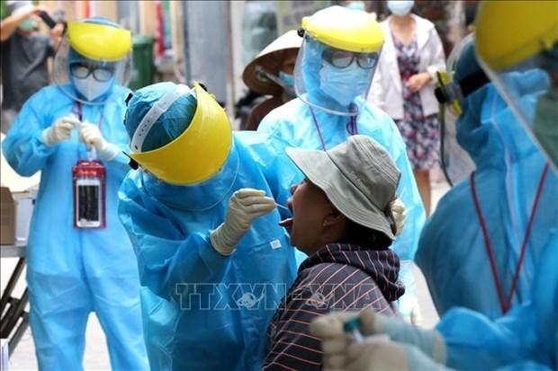 海防市为岘港市和广南省捐赠100亿越南盾 用于防疫工作 hinh anh 1