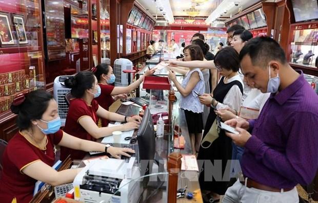 越南国家银行有足够的资源来维持黄金市场稳定 hinh anh 1