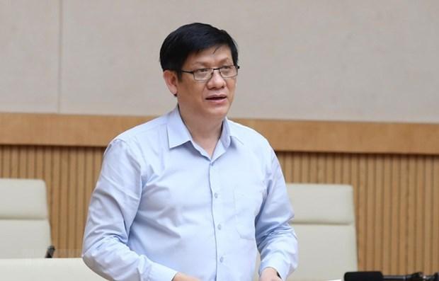 越南卫生部代部长:采取强有力措施 有效防控疫情 hinh anh 2