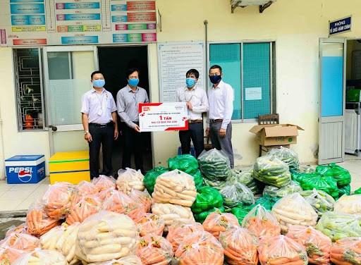 Central Retail(越南)公司向岘港市捐赠10吨食品 hinh anh 2
