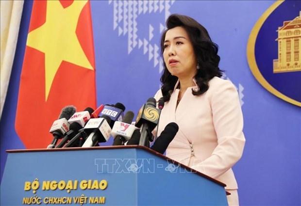 未经越南准许在黄沙和长沙群岛开展的各项活动都是无效的 hinh anh 1
