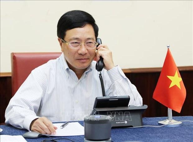 范平明与美国国务卿蓬佩奥通电话 hinh anh 1