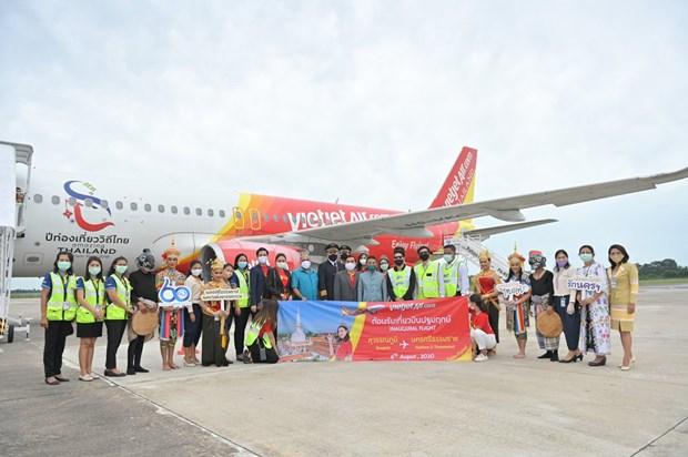 泰国越捷航空开通第十条国内航线 连接首都曼谷与那空是贪玛叻府 hinh anh 1