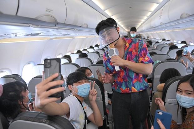 泰国越捷航空开通第十条国内航线 连接首都曼谷与那空是贪玛叻府 hinh anh 2