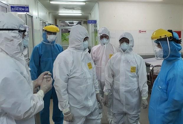 新增两名新冠肺炎病例因严重基础疾病死亡 hinh anh 1