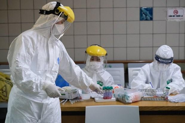 新冠肺炎疫情:广治省继续封锁东河市的三个高风险地区 hinh anh 2