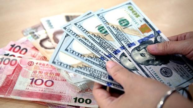 8月10日越盾对美元汇率中间价下调15越盾 hinh anh 1