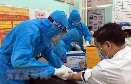 8月10日上午,越南无新增新冠肺炎确诊病例 hinh anh 1