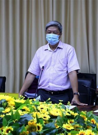 越南卫生部副部长阮长山:加大宣传力度 提升人民群众防疫意识 hinh anh 1