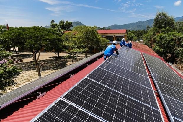 越南中部西原地区开发8730多个屋顶太阳能发电项目 hinh anh 1