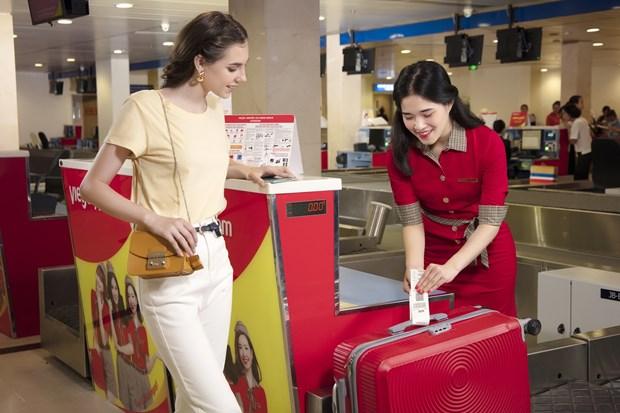 越捷航空推出免费托运15公斤行李的优惠 hinh anh 2