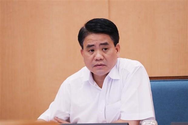 越共中央政治局停止阮德钟的河内市市委副书记职务 hinh anh 1