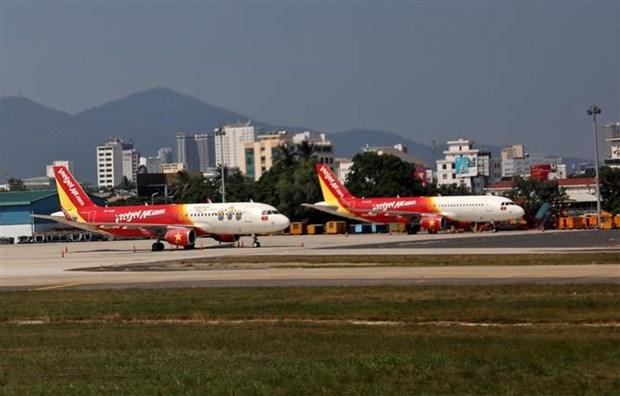 岘港为运送1453名旅客回河内市和胡志明市提供支持 hinh anh 1