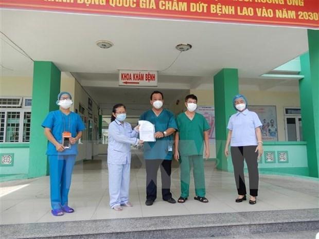 新冠肺炎疫情:岘港市新增10例治愈病例 最小仅8个月大 hinh anh 1