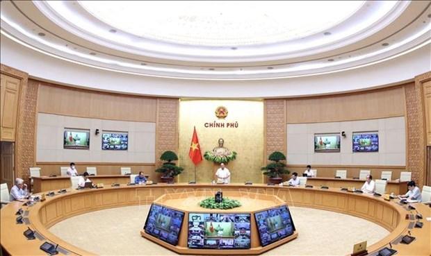 阮春福总理:在不同地方制定有关经济和卫生的有效防疫战略 hinh anh 1