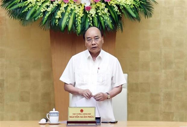 阮春福总理:在不同地方制定有关经济和卫生的有效防疫战略 hinh anh 2