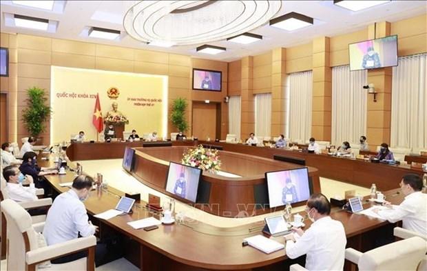 越南国会常委会第47次会议落幕 hinh anh 1