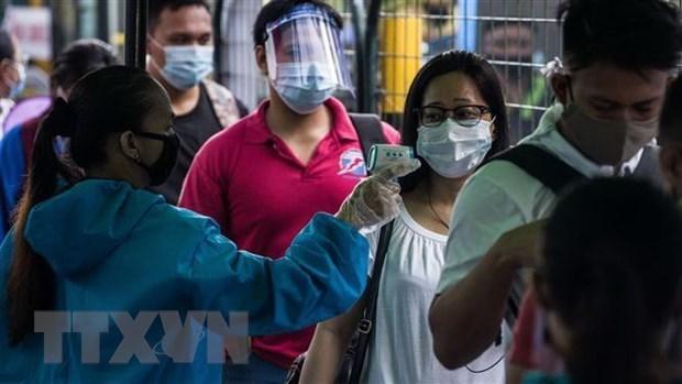 东南亚部分国家新冠肺炎疫情:菲律宾新增病例达4000多例 hinh anh 1