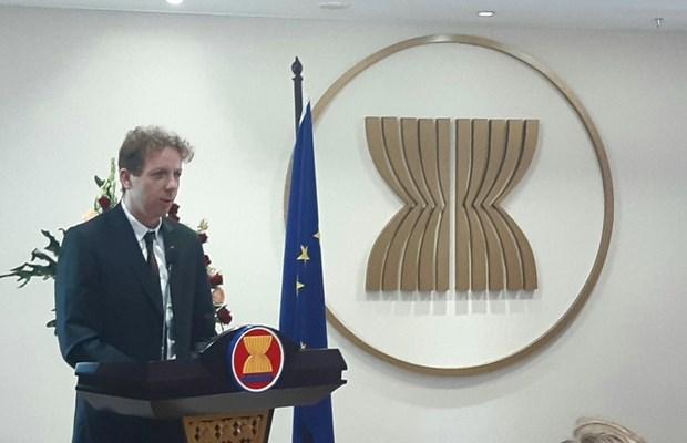 2020东盟轮值主席年:欧盟与东盟开展总值为1300欧元的3项新合作项目 hinh anh 1