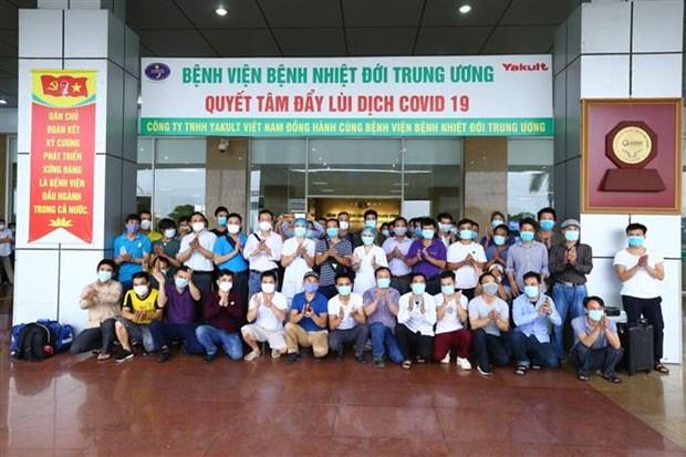 从赤道几内亚回国的219名越南公民中只有22人感染新冠肺炎病毒 hinh anh 1