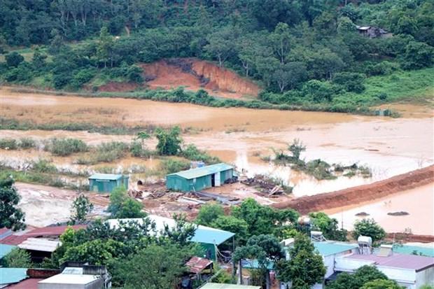 自然灾害给越南多地造成巨大损失 hinh anh 1