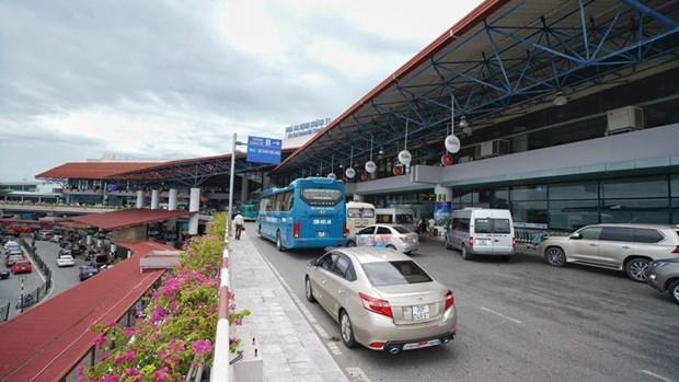 内排国际机场8月15日起调整航站楼客运运营方案 hinh anh 1