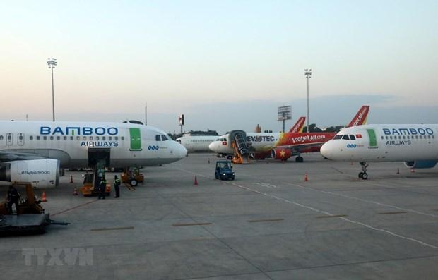 内排国际机场8月15日起调整航站楼客运运营方案 hinh anh 2