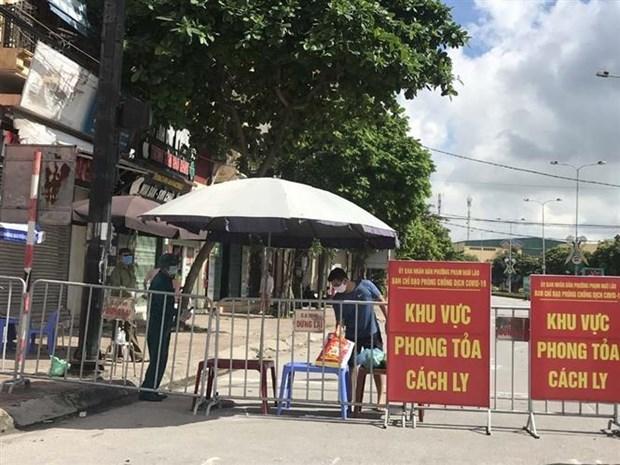 岘港、海阳、广南等省市继续加强防疫抗疫措施 hinh anh 1