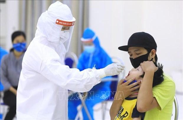 新冠肺炎疫情:河内市发出紧急通知 要求严格遵守防疫规定 hinh anh 1