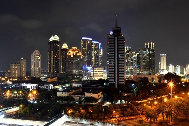 印度尼西亚下调2020年经济增长目标 hinh anh 1
