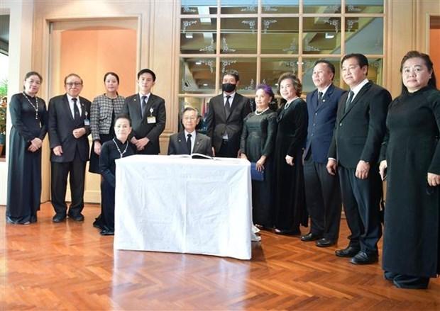原越共中央总书记黎可漂的吊唁仪式在泰国、印尼、缅甸、瑞士和希腊举行 hinh anh 1